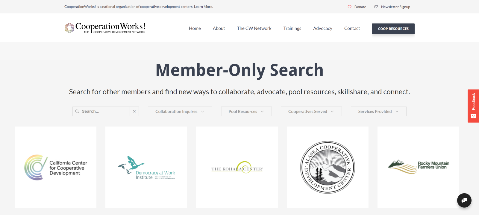 Member Only Search
