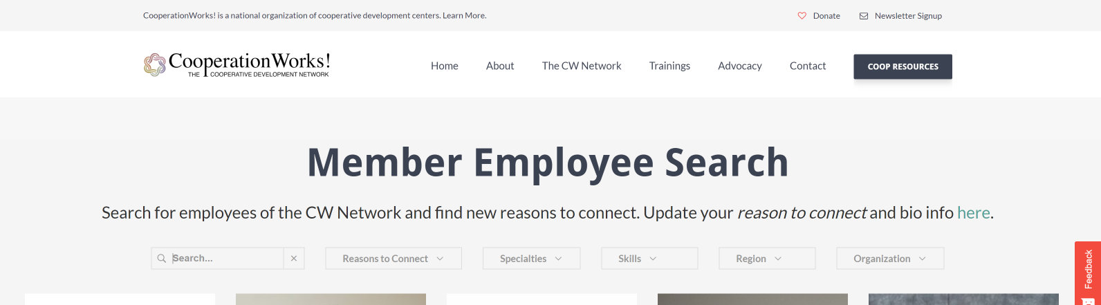 Member Only Employee Directory